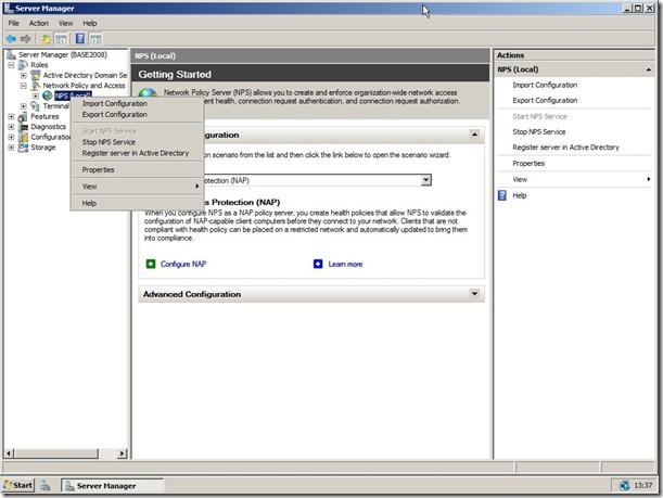 Autenticação do roteador no AD (Windows Server 2008) – Brainwork