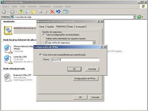 L2TP no Windows XP