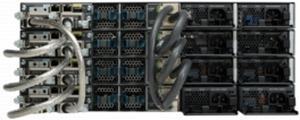 3750-X com stack para dados e energia