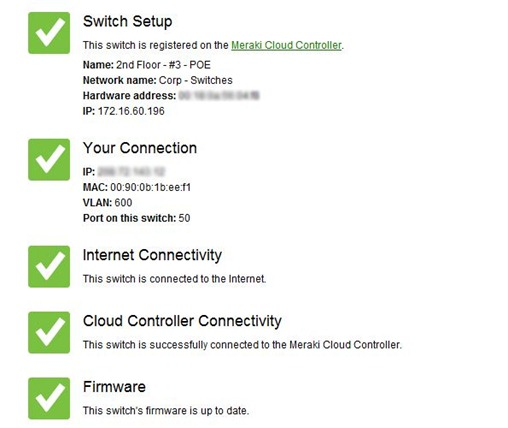 Meraki Local Config