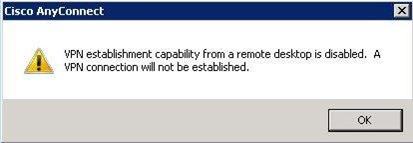 VPN from a Remote Desktop