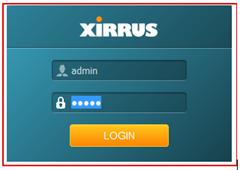 Login Xirrus