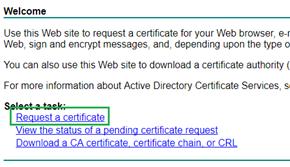 Requisição de Certificado