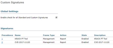 Custom Signatures