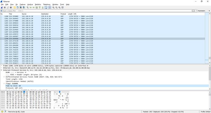Validação com Wireshark