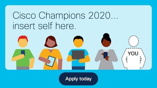 Cisco Champions 2020