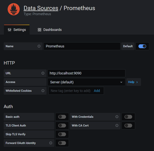 Grafana e Prometheus